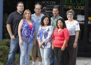 Scicon Front Office and IT Department