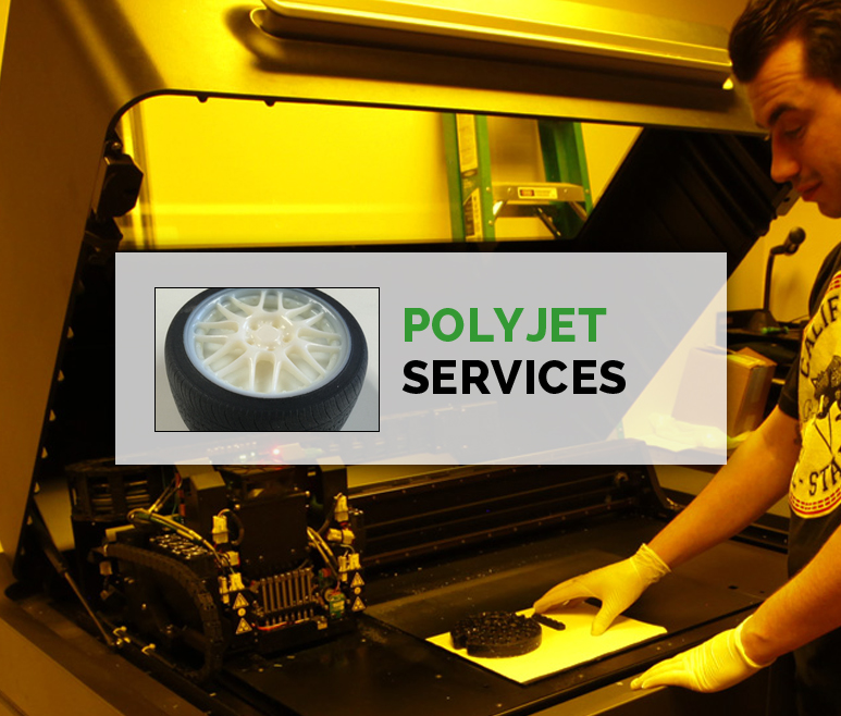 Polyjet Prototyping Services